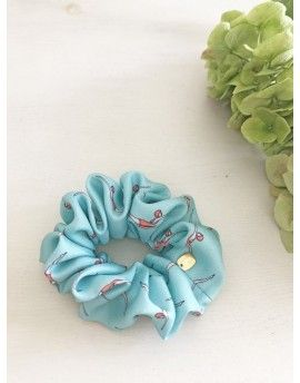 Coletero Scrunchie estampado